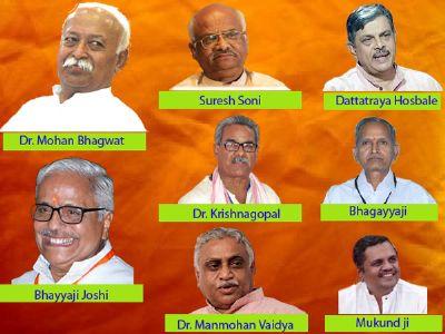 Dr. Manmohan Vaidya and Shri. Mukund are new Sah-Sarkaryavah