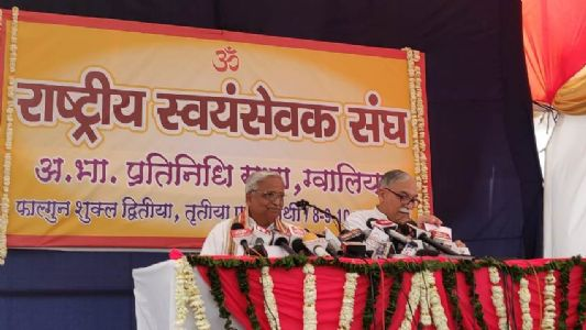 RSS' new initiative to focus on environment conservation - Bhaiyyaji Joshi